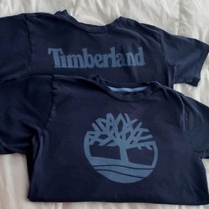 Two Timberland tees